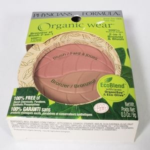 Physicians Formula Organic Wear 2in1 Bronzer Blush